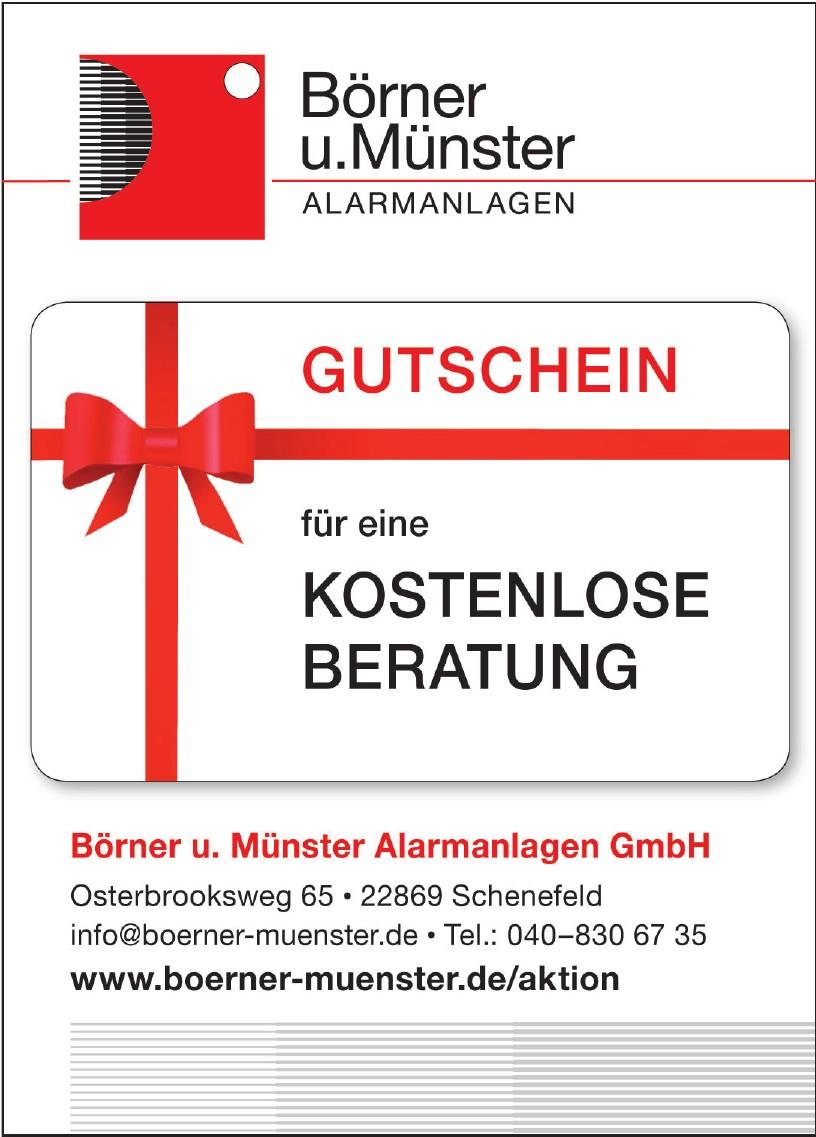Börner und Münster Alarmanlagen GmbH
