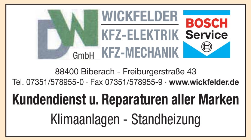 DW Wickfelder