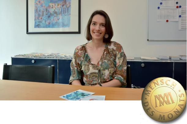 Katharina Gräfin von Polier zu Besuch in der KLÖNSCHNACK-Redaktion