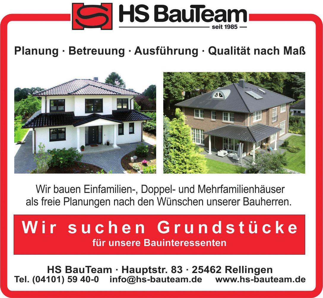 HS BauTeam - Bau- und Grundstücksgesellschaft mbH