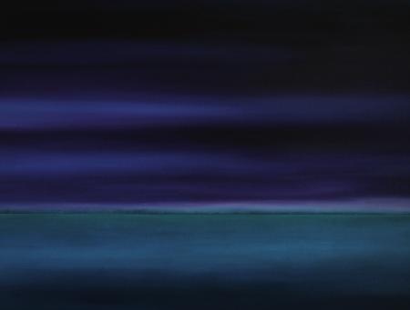 """Horizont"", Öl auf Leinwand"
