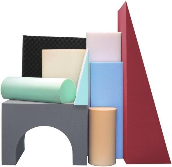 Schaumstoffe in allen Formen und Farben finden Sie bei Lübke Schaumdesign