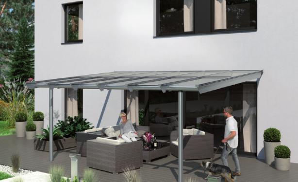 Terrassendach Anova von Solarlux FOTO: SOLARLUX