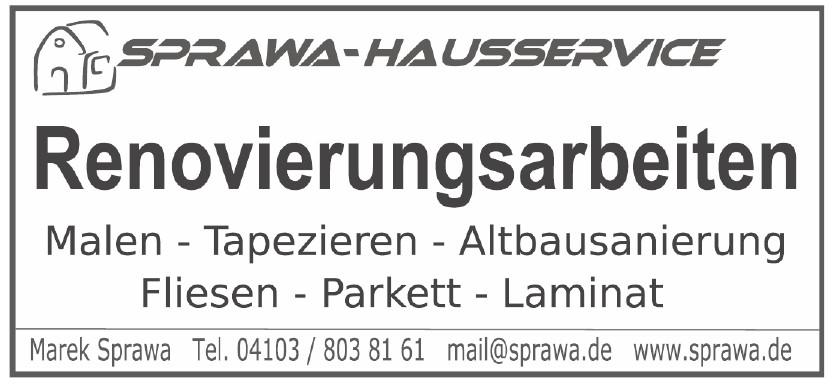 SPRAWA-HAUSSERVICE