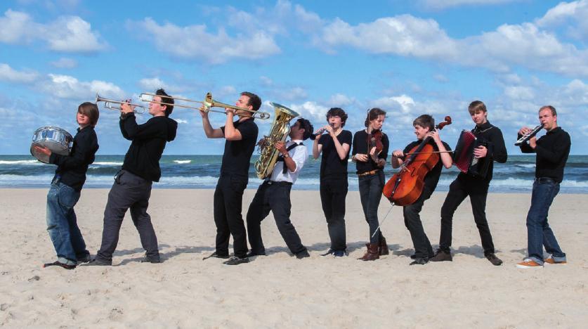 Die Musiker des Zirkusprojektes suchen Nachwuchs FOTO: WOLFGANG SCHMIDT
