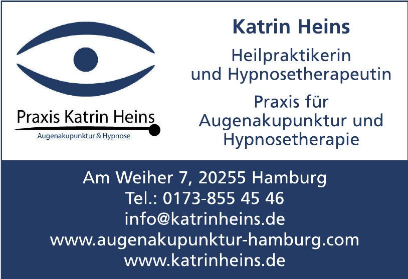 Katrin Heins Hilpraktikerin und Hypnostherapeutin