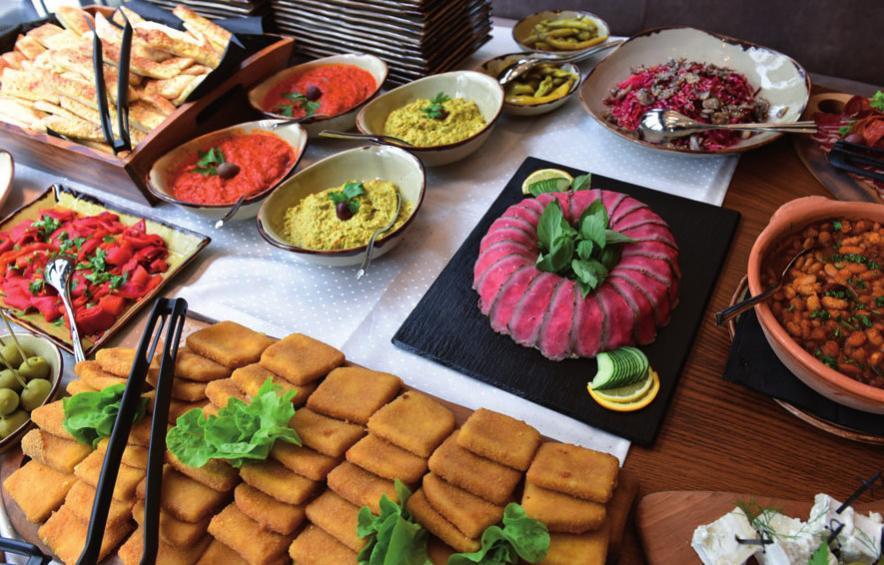 Die Vielfalt der mazedonischen Küche