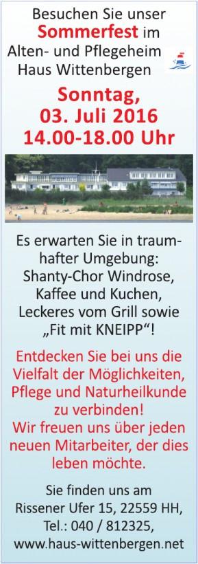 Haus Wittenbergen