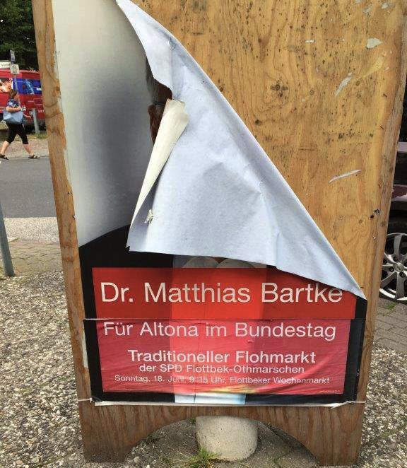 Plakate werden nicht entferntFOTO: C. KOHLEER