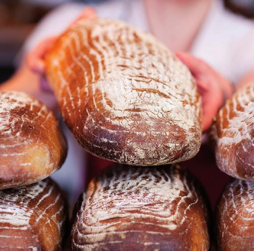 Des Deutschen liebstes Brot schwankt präzise zwischen hell und dunkel. Das Mischbrot vereint mehrere Mehlsorten zu einem schmackhaften Laib.FOTO: CONTRASTWERKSTATT_FOTOLIA.COM