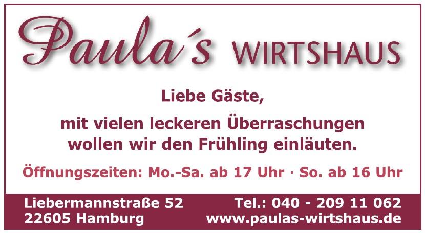 Paula´s Wirthaus