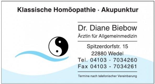 Dr. Diane Biebow, Klassische Homöopathie, Akupunktur