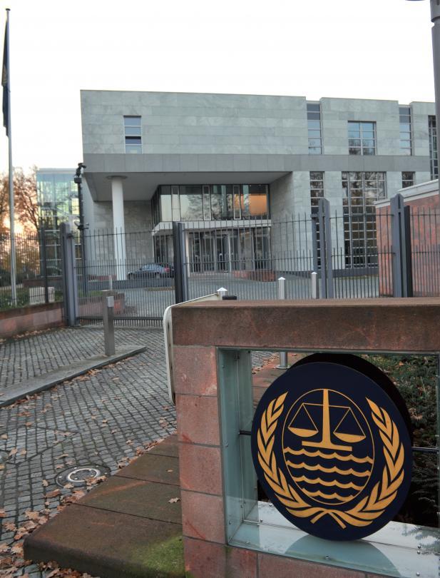 Der Haupteingang zum Seegerichtshof