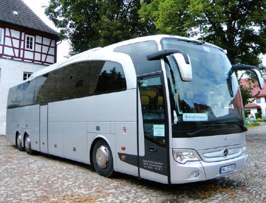 Gut betreut: Unterwegs im Bus von Wolf-Reisen