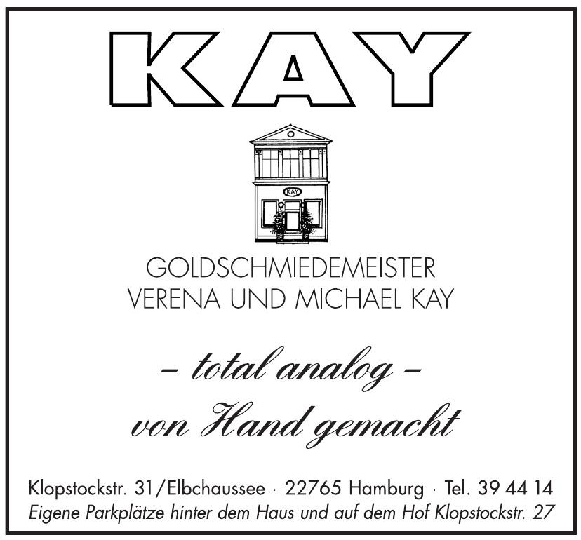 Goldschmiedemeister Verena und Michael Kay