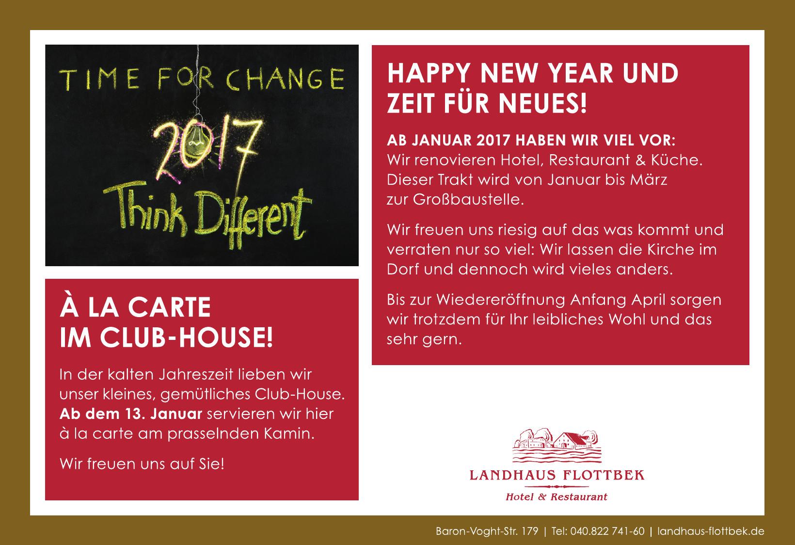 Landhaus Flottbek Hotel & Restaurant
