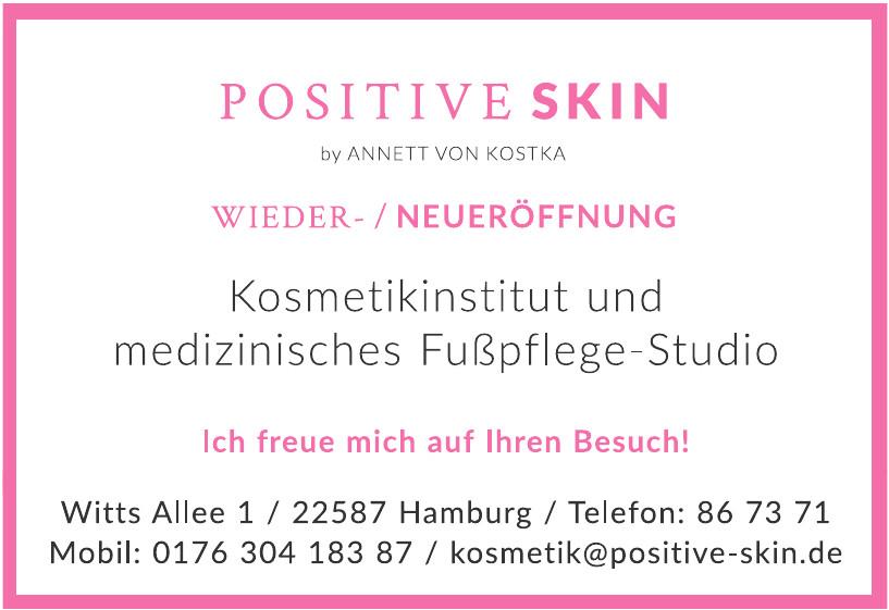 Positive skin