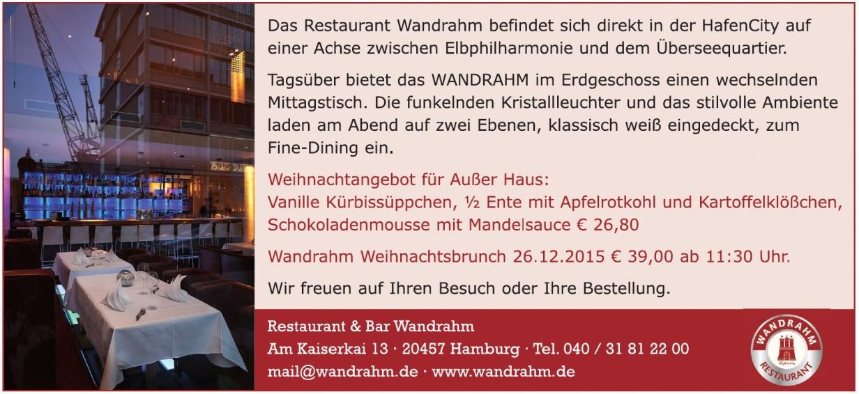 Restaurant Wandrahm
