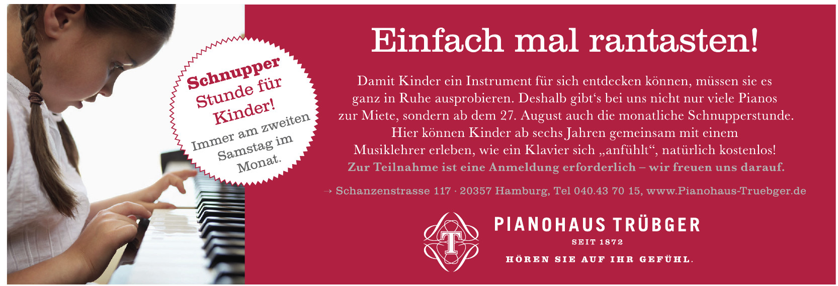 Pianohaus Trübger - Klaviere und Flügel
