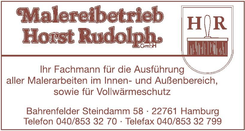 Malereibetrieb Horst Rudolph GmbH