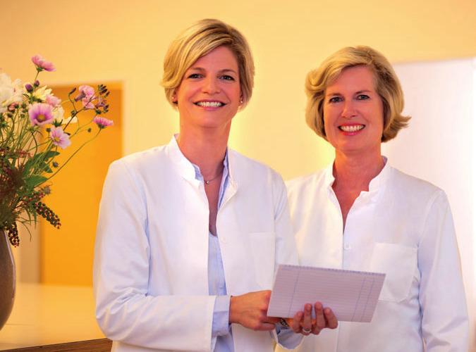 Dr. Kristina Schramm (rechts) und Dr. Inken Schindler