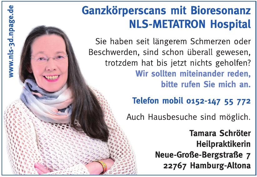 Tamara Schröter, Heilpraktikerin