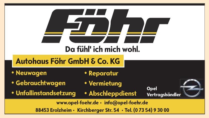 Autohaus Föhr GmbH & Co. KG