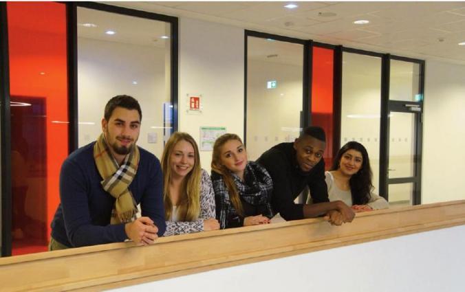 Schüler des Beruflichen Gymnasiums Fachrichtung Wirtschaft
