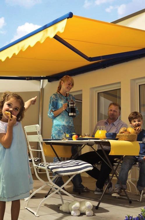 Schützen Sie ihre Familie vor der Sonne – aber mit Stil