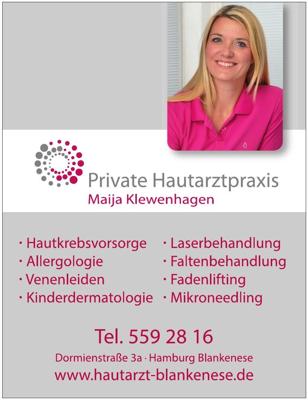 Private Hautarztpraxis Maija Klewenhagen