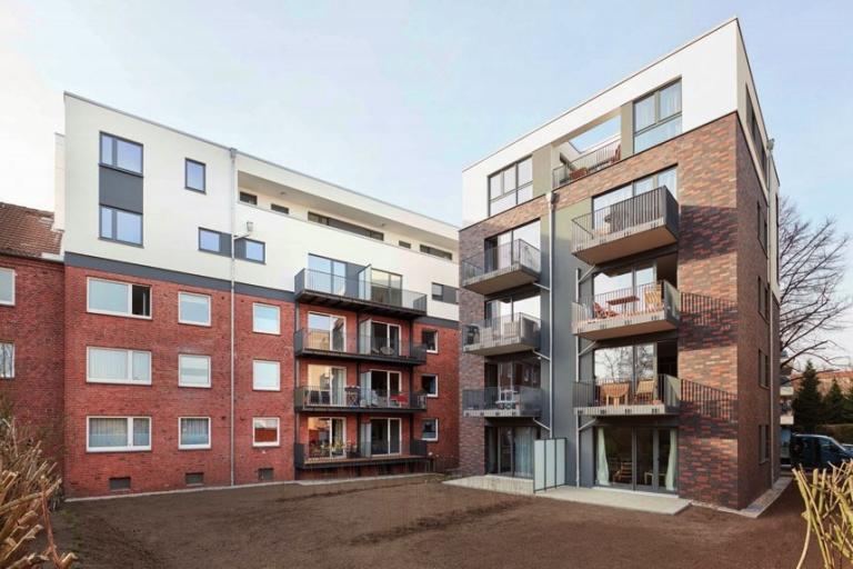 Wohnungsbauprojekt in Barmbek Ecke Langenrehm/Stückenstraße