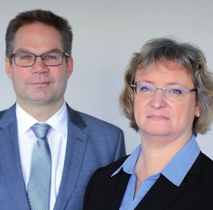 Carola Gerhardt und Marco Meyer, Steuerberater, Telefon 86 60 130