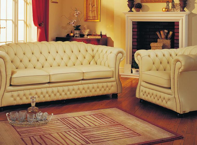 Original Chesterfield-Garnituren und mehr finden Liebhaber bei Englische Stilmöbel Jork