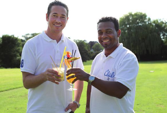 Stefan Frauendorf und Santos Paredes vom Club 32