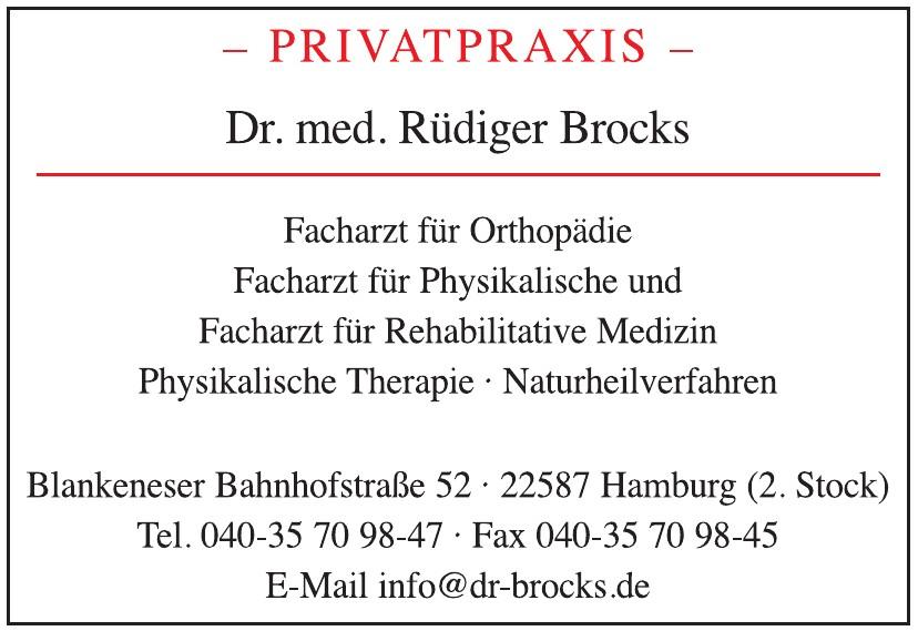 Privatpraxis Dr. med. Rüdiger Brocks