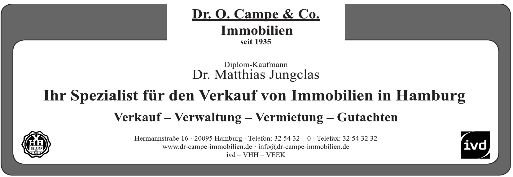 Dr. O. Campre & Cp. Immobilien