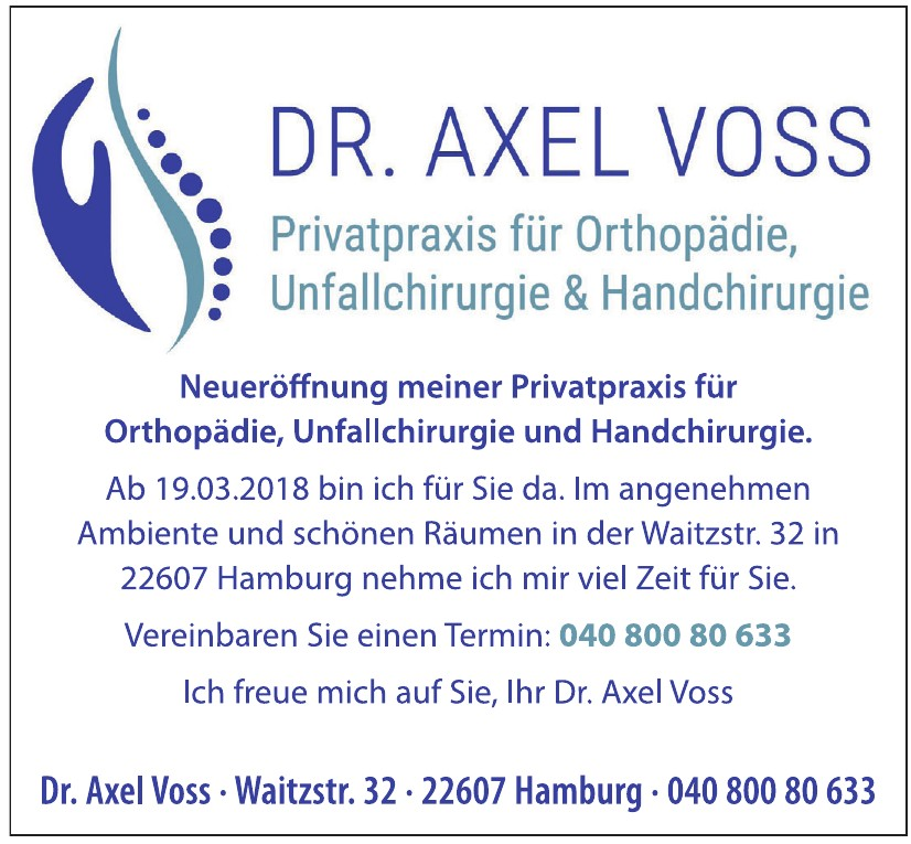 Dr. Axel Voss