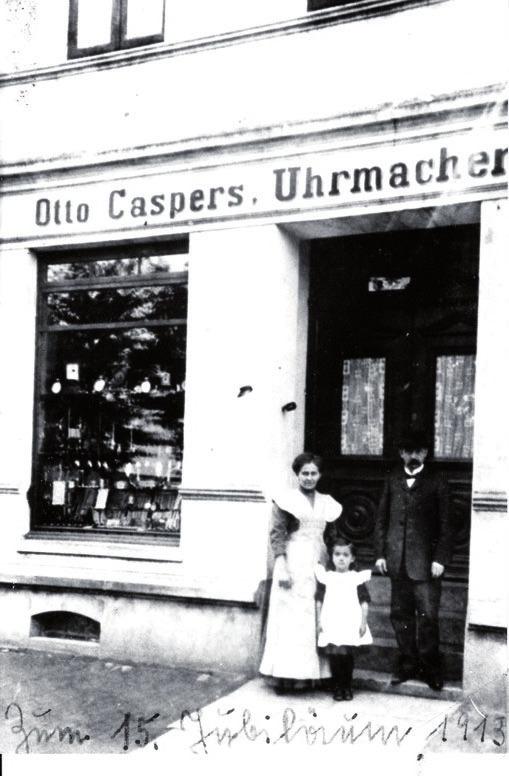 Otto Caspers gründete 1898 sein Geschäft