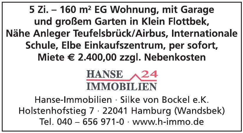 Hanse-Immobilien Silke von Bockel e.K.