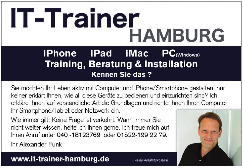 IT-Trainer Hamburg