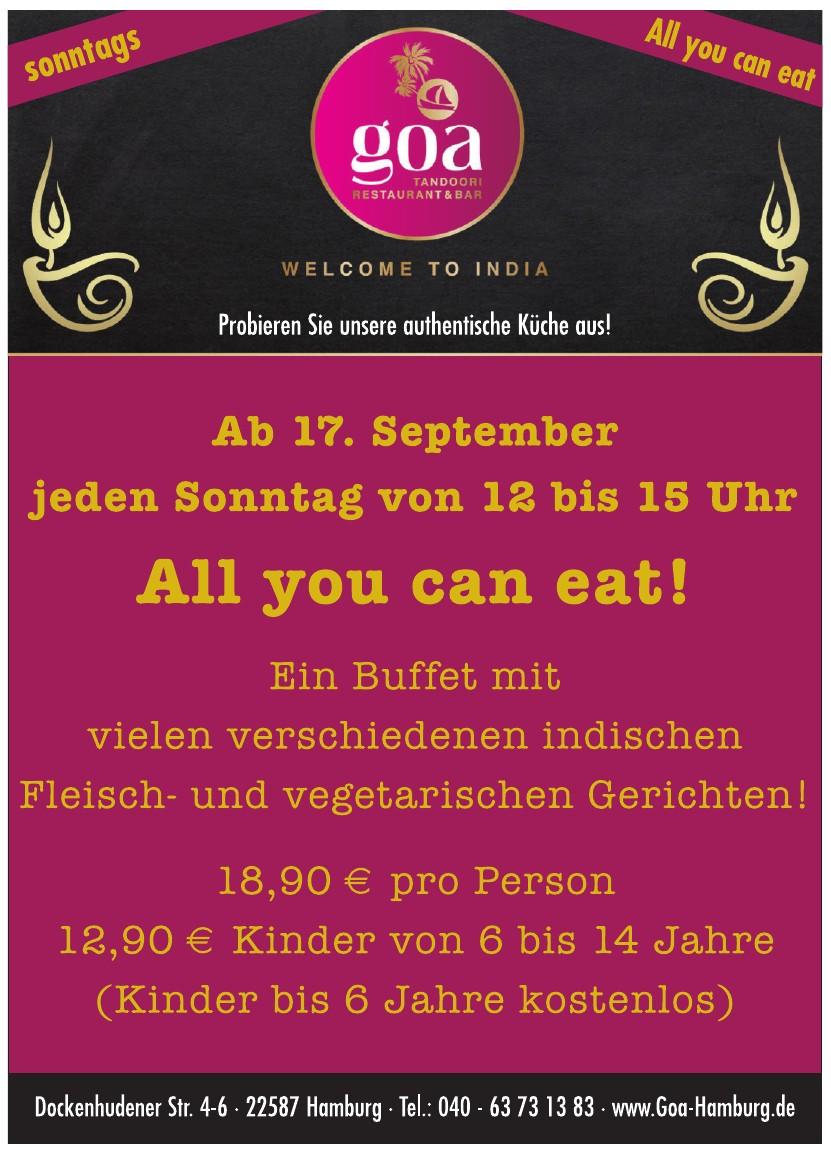 Goa Restaurant Hamburg