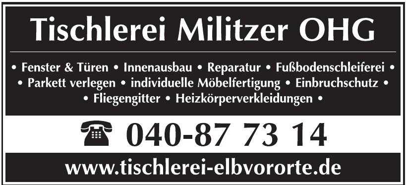 Tischlerei Militzer OHG