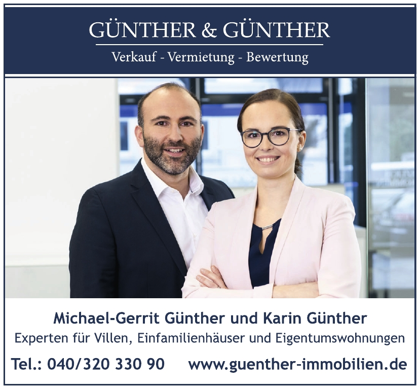Günther & Günther - Immobilien aus Leidenschaft