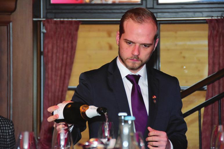 Sebastian Russold überzeugte mit seinem Weinwissen