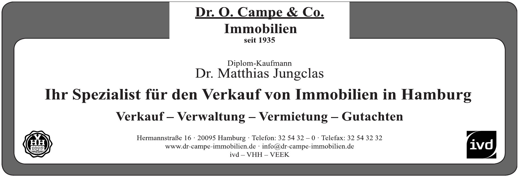 Dr. O. Campe & Co. - Immobilien