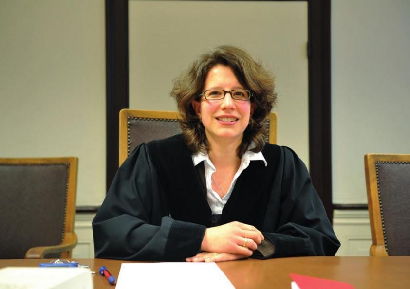 Amtsrichterin Ingrid Stegmann fragt stets behutsam und geduldig nach
