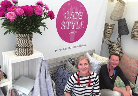 Sabine Keck und Nicky Wilton von CAPESTYLE design
