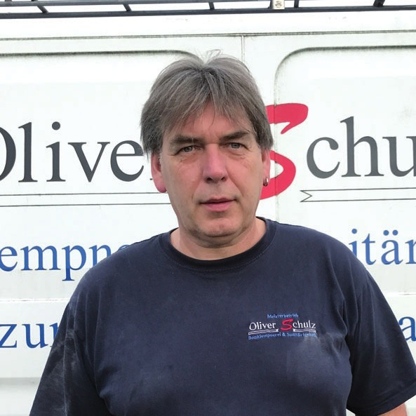 Oliver Schulz, Meister im Klempner- und Dachdeckerhandwerk
