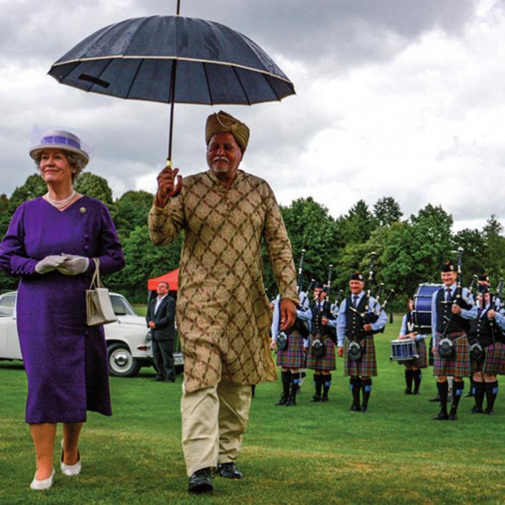 In britischem Stil die Messe erkundenFOTO: DAS AGENTURHAUS GMBH