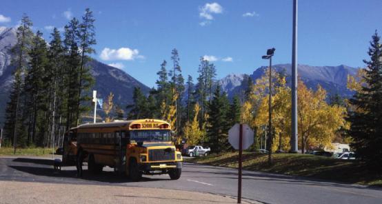 Der gelbe Schulbus ist noch immer ein kanadischer Klassiker